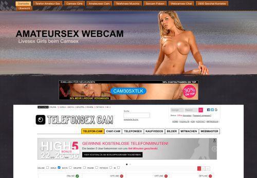 Webcamsex im Internet